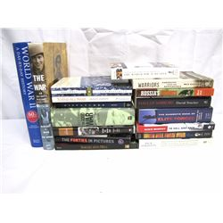 Misc. Personal Property (17):  WWII / military history books (very good condition) Hard cover and so