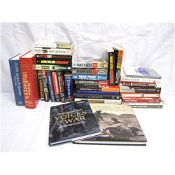 Misc. Personal Property (34): WWII,  military history books, miscellaneous, dictionary, quotes and t