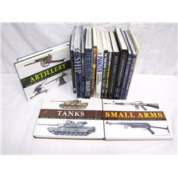 Misc. Personal Property (17): coffee table-type books on military history, armament, ships, West Poi