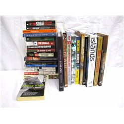 Misc. Personal Property (28): miscellaneous books including military, cowboys, WWII