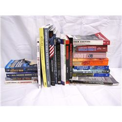 Misc. Personal Property (26): WWII, military history books; sniper skills, U boats, Art of War.