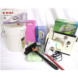 Misc. Personal Property (8): Ironing board, Riccar sewing machine  (not assessed for working conditi