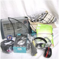 Misc. Personal Property (1): Various household items. Stereo headphones (Mercury, AO Safety)