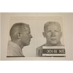 James  Whitey  Bulger 8  x 10  Mug Shot, From 1963. ** Personal Asset Formerly Belonging to James  W