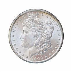 1900 $1 Morgan Silver Dollar Uncirculated