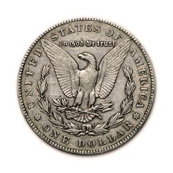 1904 $1 Morgan Silver Dollar VG