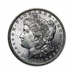 1883 $1 Morgan Silver Dollar AU