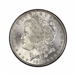 1886 $1 Morgan Silver Dollar AU