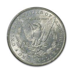 1887 $1 Morgan Silver Dollar AU
