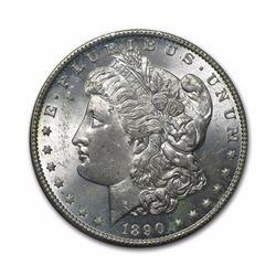 1890 $1 Morgan Silver Dollar AU