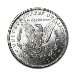 1892-S $1 Morgan Silver Dollar VG