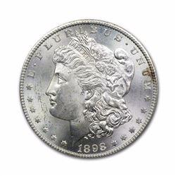 1898 $1 Morgan Silver Dollar Uncirculated