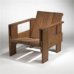 Fantastic Gerrit Thomas Rietveld Crate Chair Download Free Architecture Designs Scobabritishbridgeorg