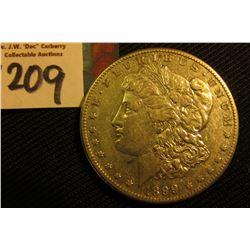1899 O Morgan Silver Dollar. VF.