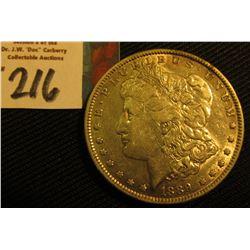1889 P  Morgan Silver Dollar. VF.
