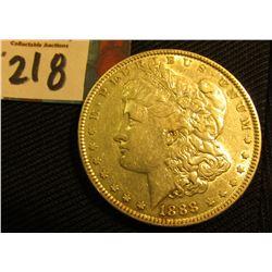 1888 P  Morgan Silver Dollar. VF.
