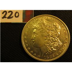 1885 P  Morgan Silver Dollar. VF.