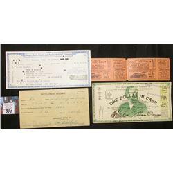 "Crosman Bros. Co, Rochester, N.Y. 1923 Receipt; ""Chicago, Rock Island and Pacific Railroad Company"""