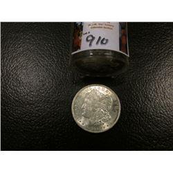 1921 P Original Brilliant Uncirculated Roll of Morgan Silver Dollars. (20 pcs.)