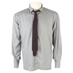 Aaron Rapaport (Seth Rogen) Hero Skylark Tonight Office Shirt & Tie from The Interview