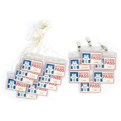 Set of 15 World Trade Center Access Passes from The Walk