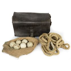 Philippe Petit (Joseph Gordon-Levitt) Leather Satchel with Ropes & Juggling Balls from The Walk