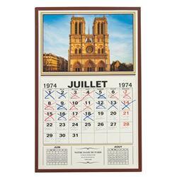 Philippe Petit (Joseph Gordon-Levitt) Calendar from The Walk