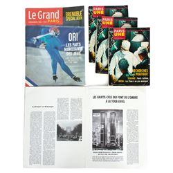 """Sets of """"Le Grand Paris"""" & """"Paris Une"""" Magazines from The Walk"""