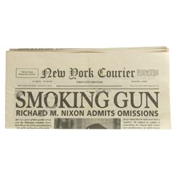 Jean-Pierre (James Badge Dale) New York Courier Newspaper from The Walk