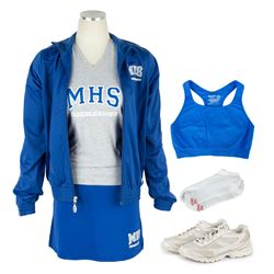 Taylor's (Halston Sage) School Cheerleader Costume from Goosebumps