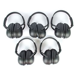 Ringer (Maika Monroe) Set of 5 Shooting Range Earmuffs from The 5th Wave