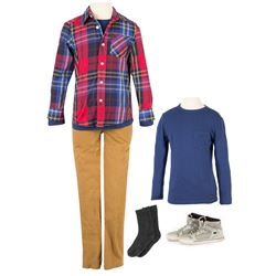 Sam Sullivan (Zackary Arthur) Hero School Costume from The 5th Wave