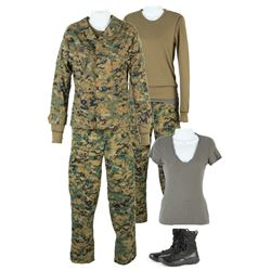 Reznik (Maria Bello) Camouflage Costume from The 5th Wave