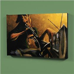"""""""Urban Tunes"""" LIMITED EDITION Giclee on Canvas by David Garibaldi, R Numbered and Signed with Certif"""