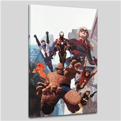 """""""I Am An Avenger #4"""" Limited Edition Giclee on Canvas by Daniel Acuna and Marvel Comics, Numbered wi"""