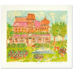 """""""My House"""" Limited Edition Serigraph by Susan Pear Meisel, Numbered and Hand Signed by the Artist! C"""