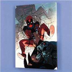 """""""Deadpool #6"""" LIMITED EDITION Giclee on Canvas by Jason Pearson and Marvel Comics, Numbered with Cer"""