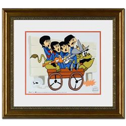 """""""The Beatles: Bullride"""" Limited Edition Sericel Recreated From The Beatles Saturday Morning Cartoon"""