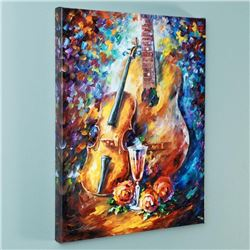 """""""Serenade"""" Limited Edition Giclee on Canvas by Leonid Afremov, Numbered and Signed with Certificate"""