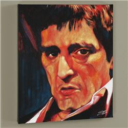 """""""Pacino"""" Limited Edition Giclee on Canvas by Stephen Fishwick, Numbered and Signed with Certificate"""