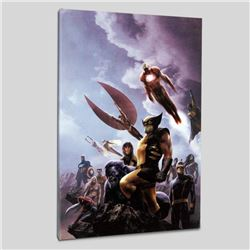 """""""New Avengers #45"""" LIMITED EDITION Giclee on Canvas by Aleksi Briclot and Marvel Comics, Numbered wi"""