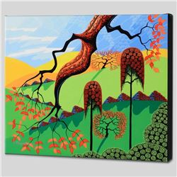 """""""Fall"""" Limited Edition Giclee on Canvas by Larissa Holt, Protege of Acclaimed Artist Eyvind Earle, N"""