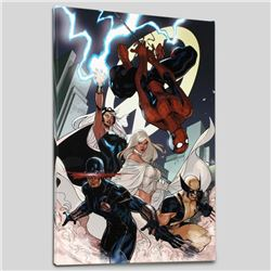 """""""X-Men #7"""" Limited Edition Giclee on Canvas by Chris Bachalo and Marvel Comics, Numbered with Certif"""