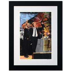 """""""Ringo Starr & Paul McCartney"""" Limited Edition Giclee by Rob Shanahan, Numbered and Hand Signed with"""