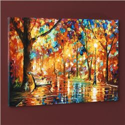 """""""Burst of Autumn"""" LIMITED EDITION Giclee on Canvas by Leonid Afremov, Numbered and Signed with Certi"""