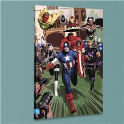 """""""Magneto: Not a Hero #2"""" LIMITED EDITION Giclee on Canvas by Daniel Acuna and Marvel Comics, Numbere"""