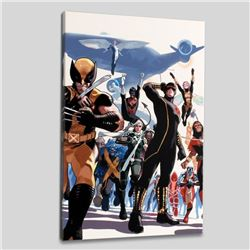 """""""X-Men Annual Legacy #1"""" Limited Edition Giclee on Canvas by Daniel Acuna and Marvel Comics, Numbere"""