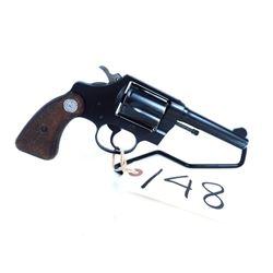 PROHIBITED Colt standard service revolver