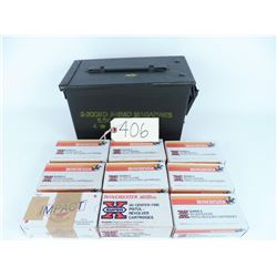 450 Rds. Factory 38 Spl. 155 gr. SWC. with ammo box