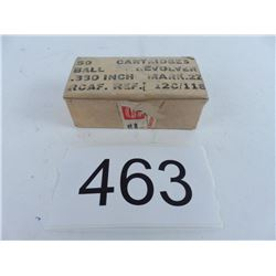38 Webley military full box